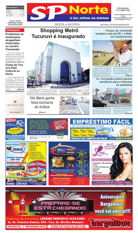 e877ba00448ee Jornal SP Norte 557 by Grupo SP de jornais - issuu