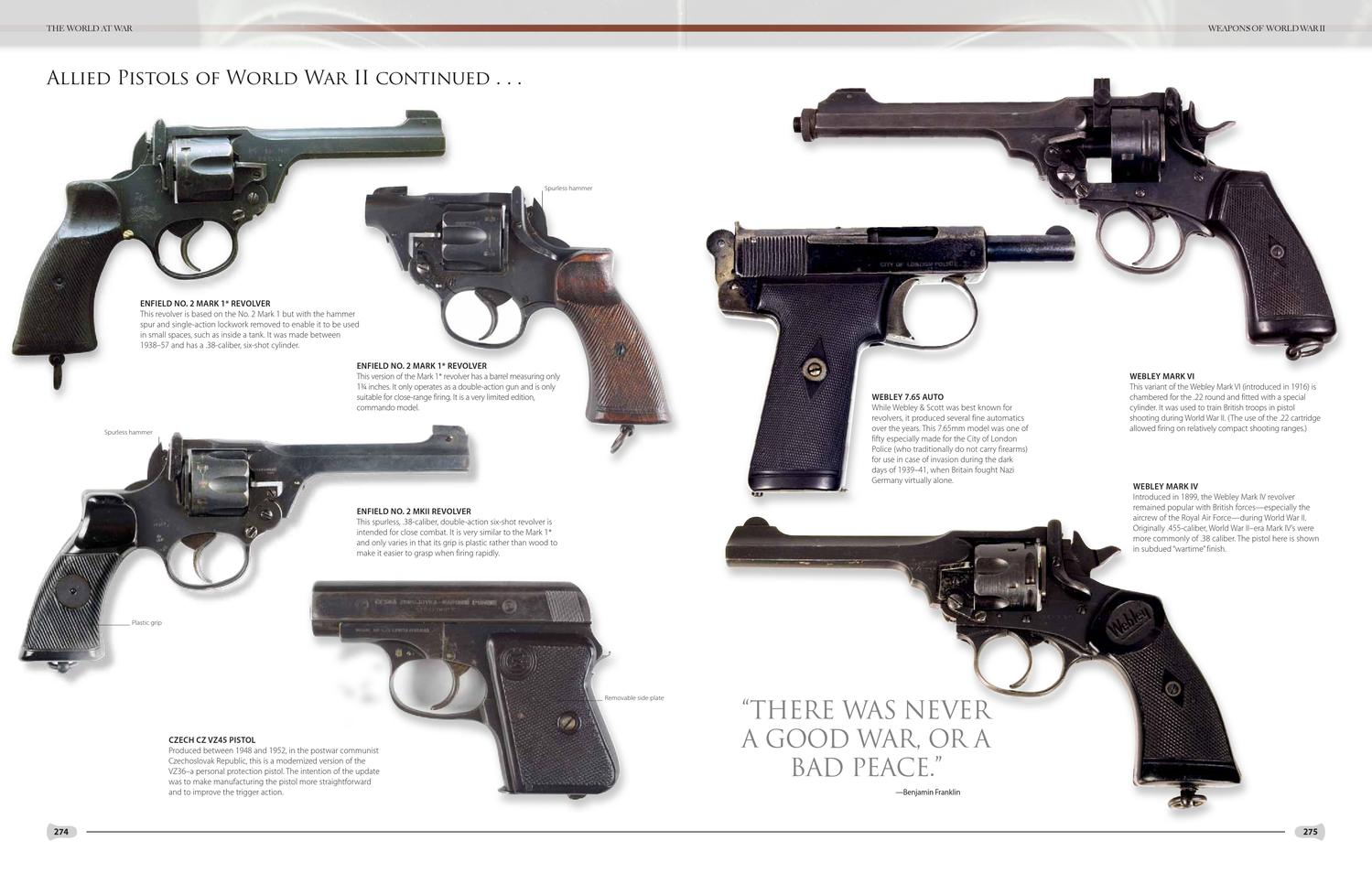 Illustrated Encyclopedia Of Weaponry By Moseley Road Inc Issuu