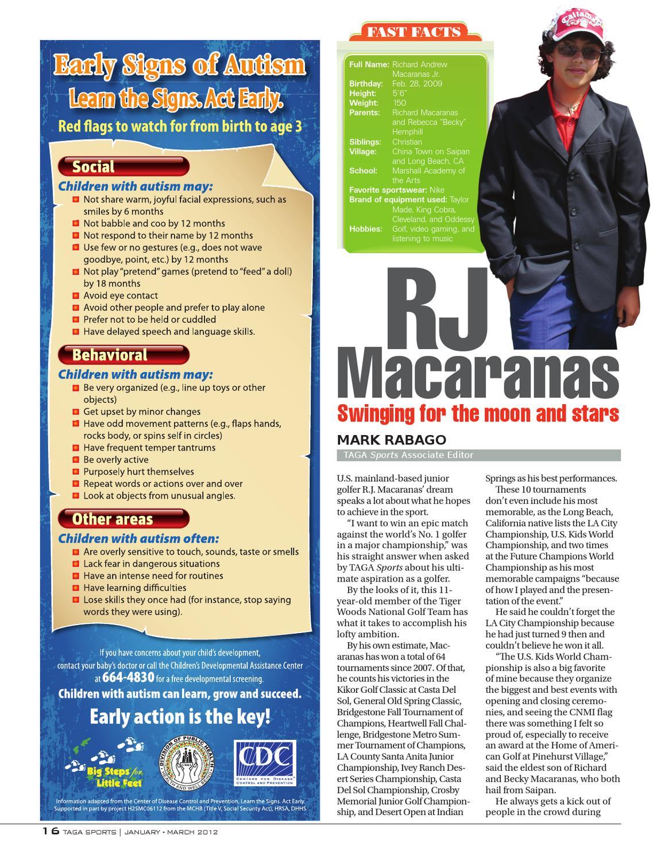 TAGASports_January-March 2012 by Saipan Tribune - issuu