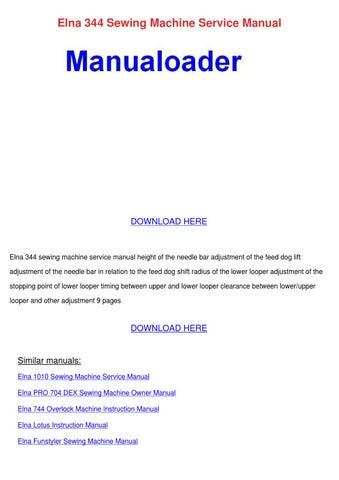 elna 344 sewing machine service manual by anglea genuario elnita 250 sewing machine manual free elnita 200 sewing machine manual free