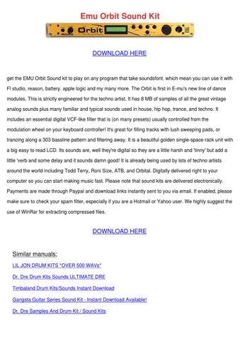 noah 40 shebib sound kit download