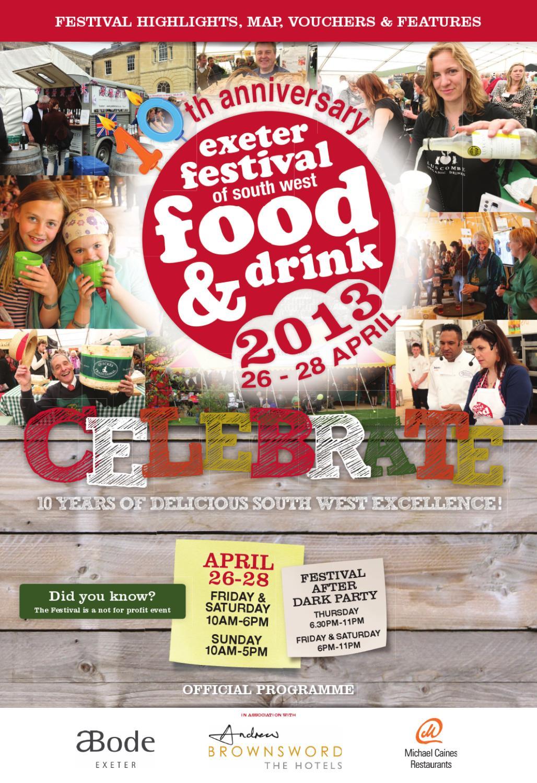 Exeter Food Festival After Dark