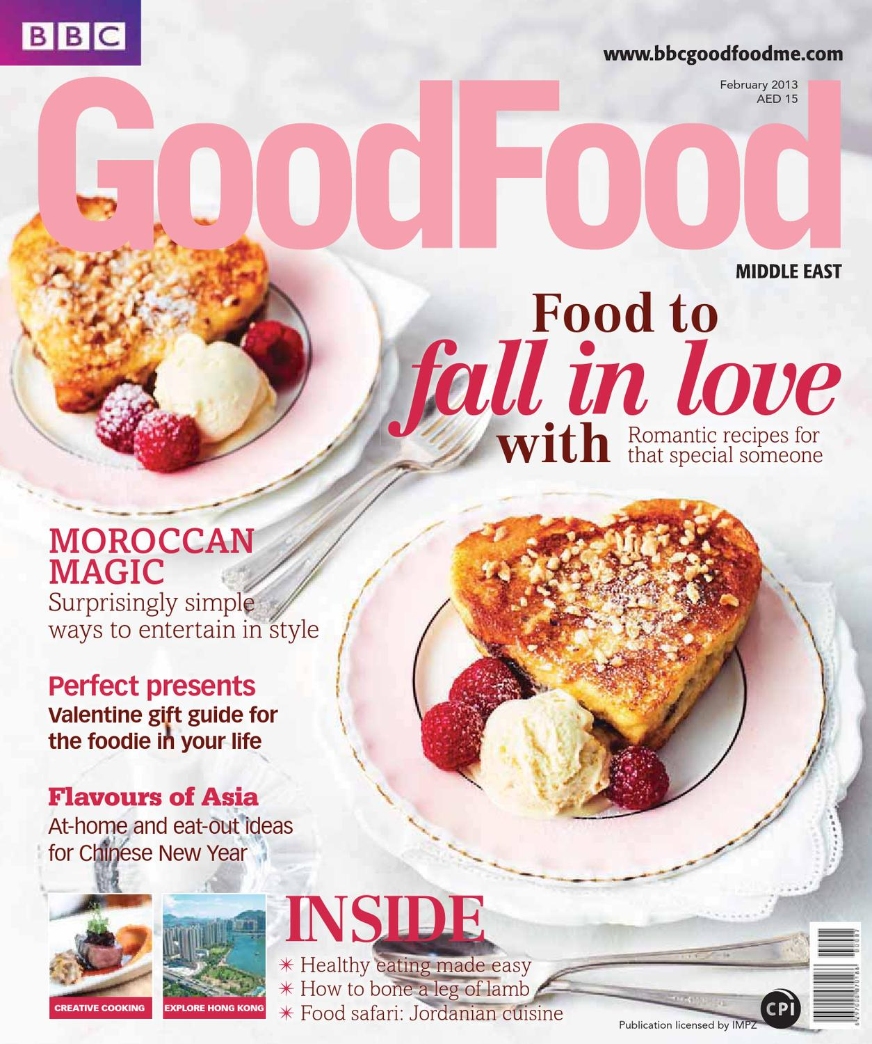 bbc good food middle east magazine february 2013 by bbc good food