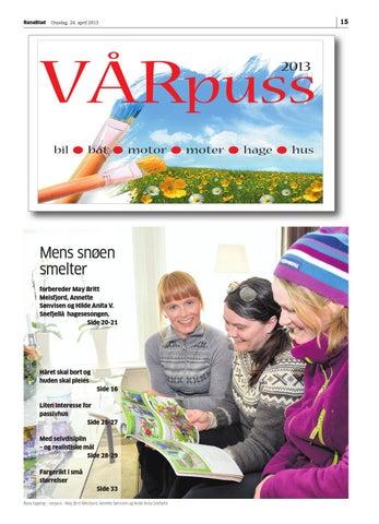 3f0f640b Tema vårpuss rana blad by Rana Blad - issuu