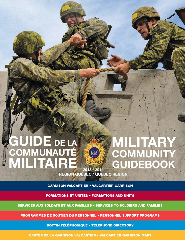 Guide de la communauté militaire - Région Québec by Journal Adsum - issuu