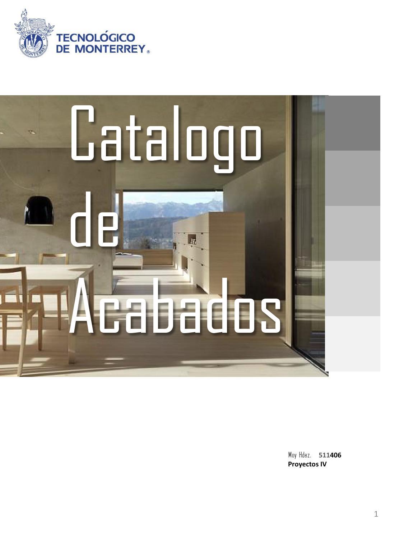 Catalogo moi by marisel salinas issuu for Acabados de techos de casas