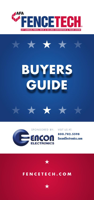 2013 Buyer's Guide by Brandon Hunt - issuu