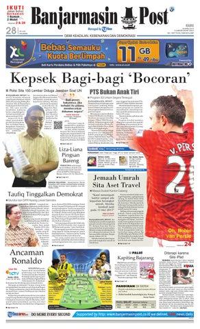 Page 1. Halaman. Banjarmasin Post fa4ef25756