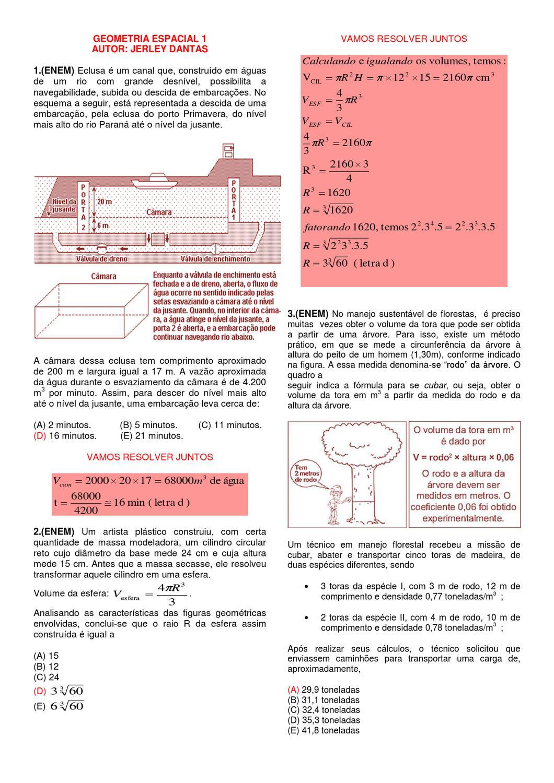 757e10a62 Questões Resolvidas (Plana e Espacial) Completo Ver 2 by Usadesign  Usadesign - issuu