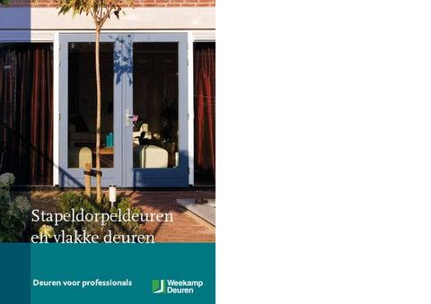 Weekamp Deuren Prijslijst : Weekamp vlakke deuren by houthandel van der marel issuu