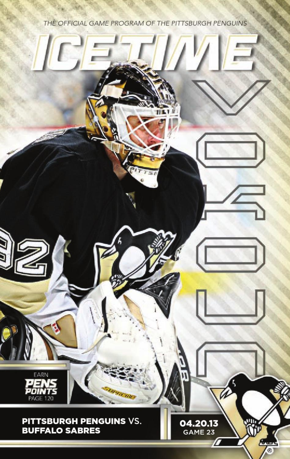 c6a9cbc2192dc1 IceTime - Game 23 vs. Buffalo Sabres 4/23/13 by Pittsburgh Penguins ...