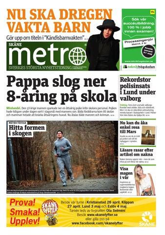 20130424 se malmo by Metro Sweden - issuu 001ba6cf276f6