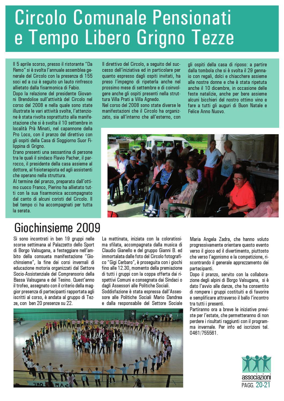 Grigno Tezze N 55 2009 By Claudio Bellin Issuu