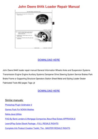 john deere repair manuals 525 ebook