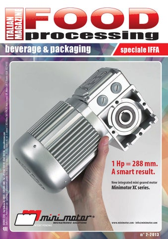 FOOD PROCESSING - 2013 - 2 by Editrice Zeus - issuu