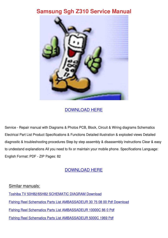 Samsung Sgh Z310 Service Manual By Vena Aubertine Issuu Mark Knopfler Wiring Diagram