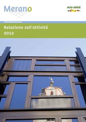 Relazione sull\'attività 2012 dell\'Azienda di Soggiorno di Merano by ...