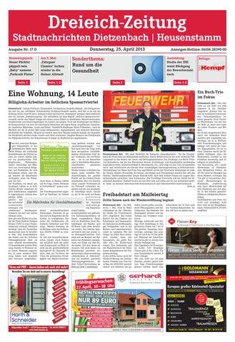 Dz Online 017 13 D By Dreieich Zeitung Offenbach Journal Issuu