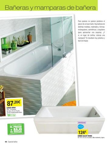 Bañeras Y Mamparas De Bañera Para Quienes No Quieren Perderse El Placer De  Un Buen Baño. Hay Bañeras De Distintas Medidas, Materiales Y Formas: ...