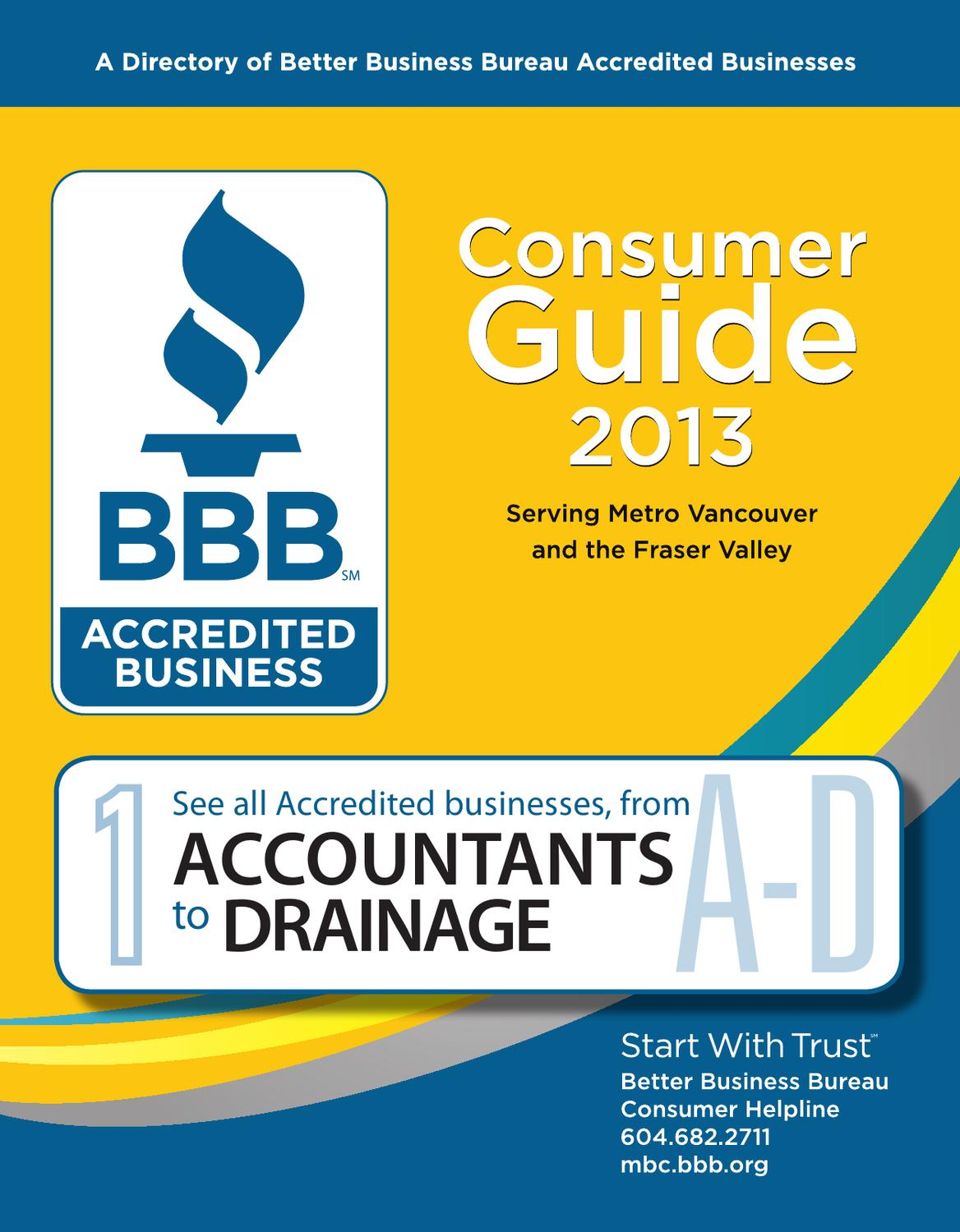 ce8f1475029 BBB Consumer Guide 2013 A-D by Business in Vancouver Media Group - issuu