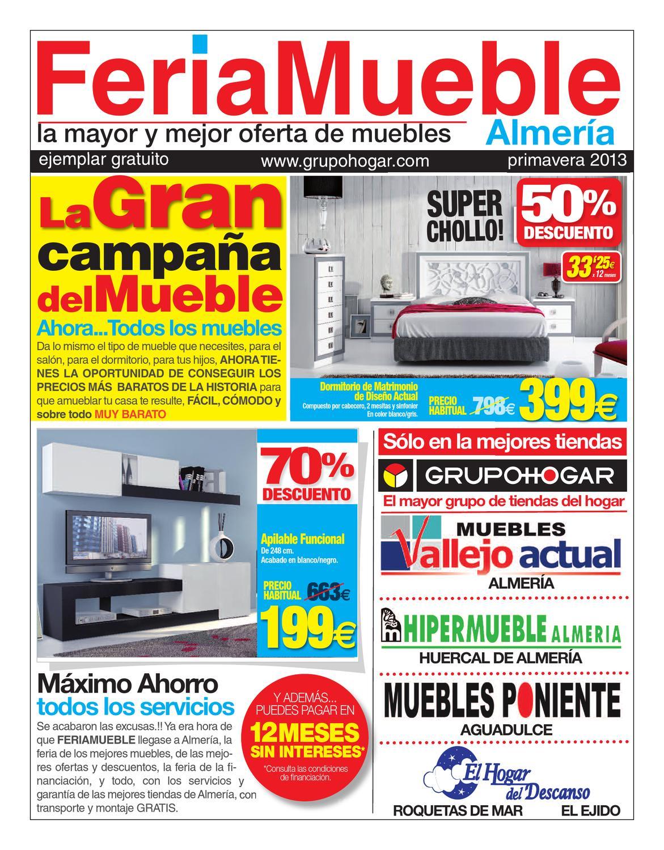 Nuevocatalogo feria muebles primavera 2013 by revistas en for Muebles en almeria ofertas