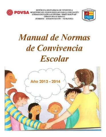 Normas de convivencia 2013 2014 by normasconvive for Libro fuera de norma