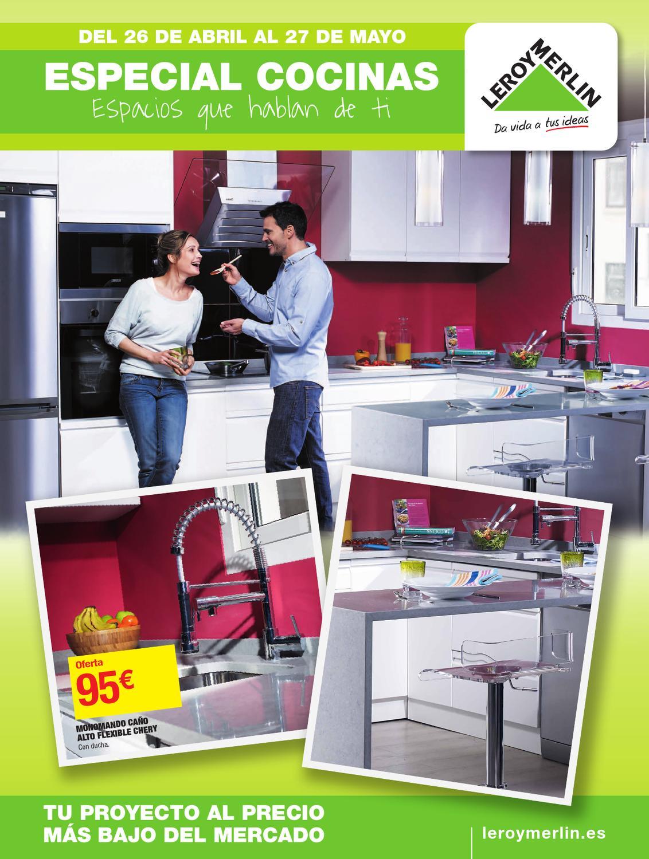 Catalogo leorymerlin especial cocinas espacio que - Catalogo cocinas pequenas ...