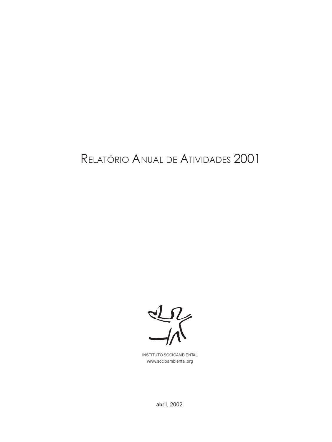 1109884e9e03c rel2001 by Instituto Socioambiental - issuu
