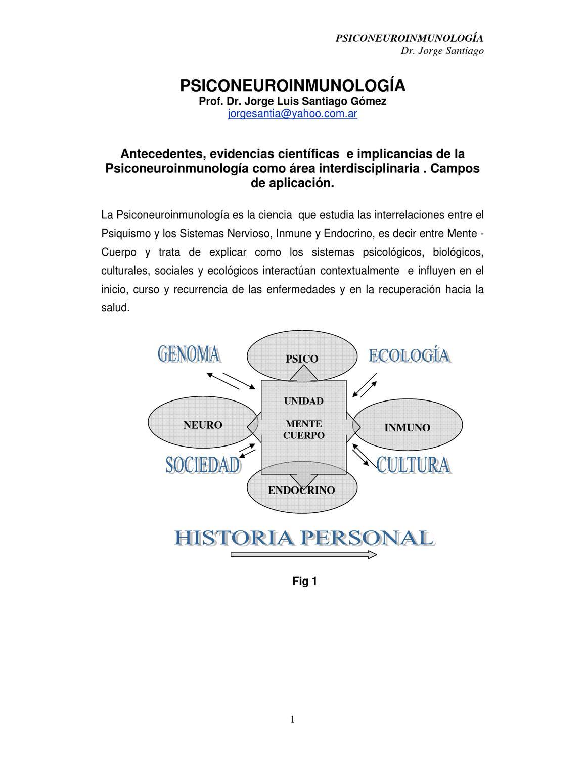 Psiconeuroinmunologia Download