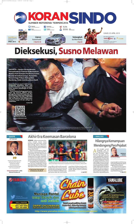 Si Digital 25042013 By Seputar Indonesia Issuu Produk Ukm Bumn Kain Batik Middle Premium 3 Bendera 01