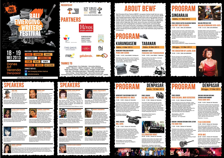 2013 Bali Emerging Writers Festival Program By Madeleine Smith Issuu Buku National Geographic