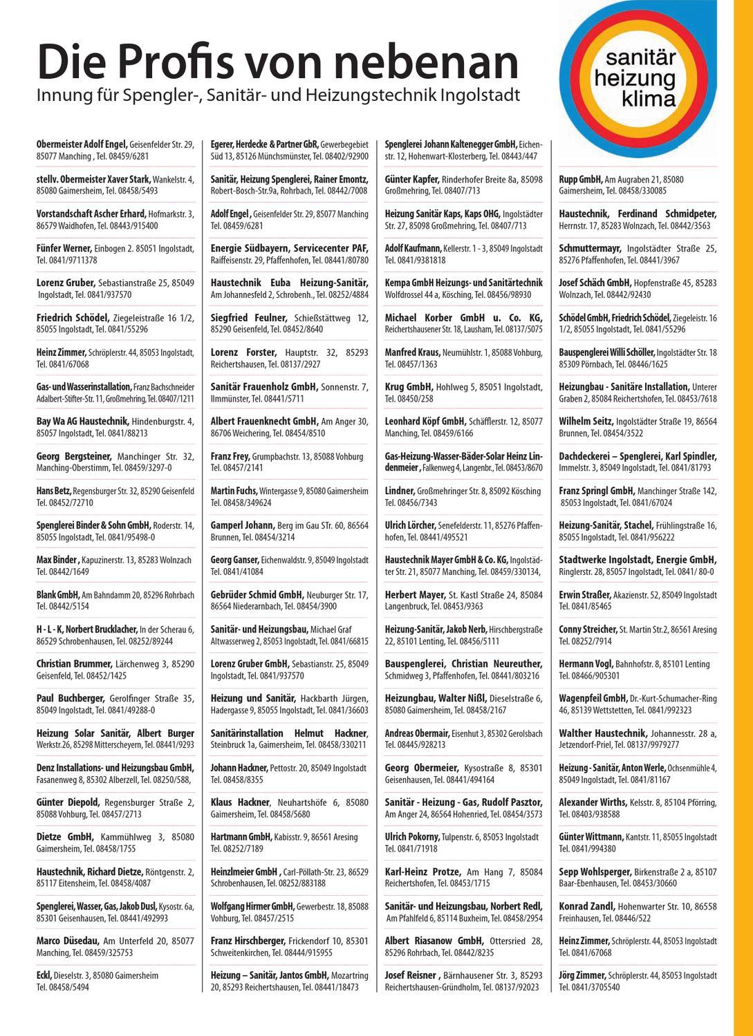 Heizungsbauer Ingolstadt 2013 05 espresso by espresso magazin issuu