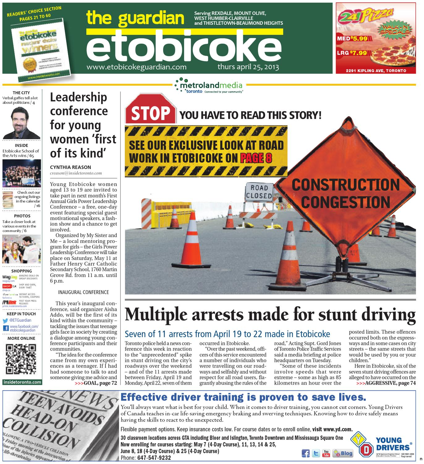 April 25 North by The Etobicoke Guardian - issuu