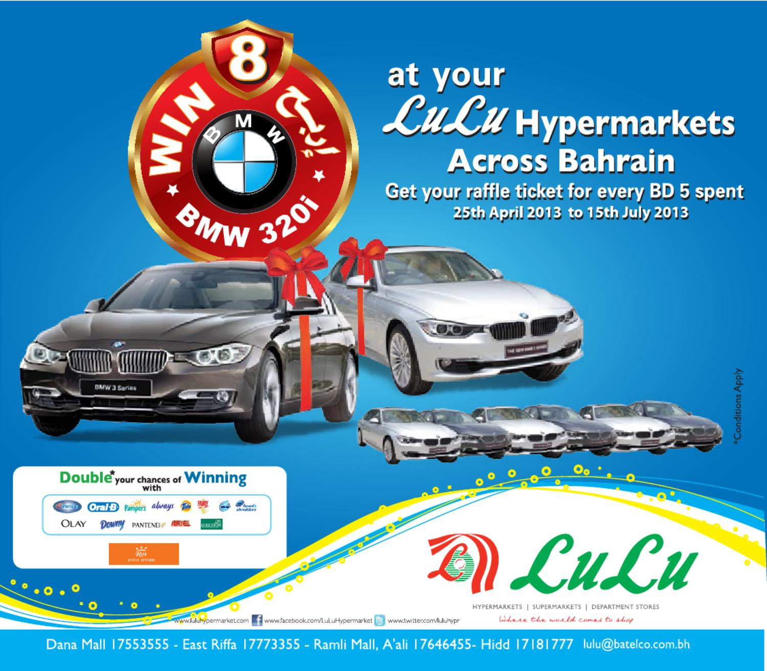 Car Raffle Draw Promotion by Lulu Hypermarket - issuu