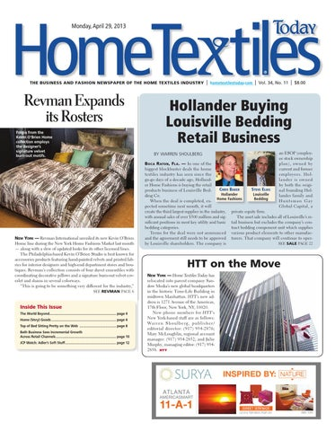 home textiles today april 29th issue