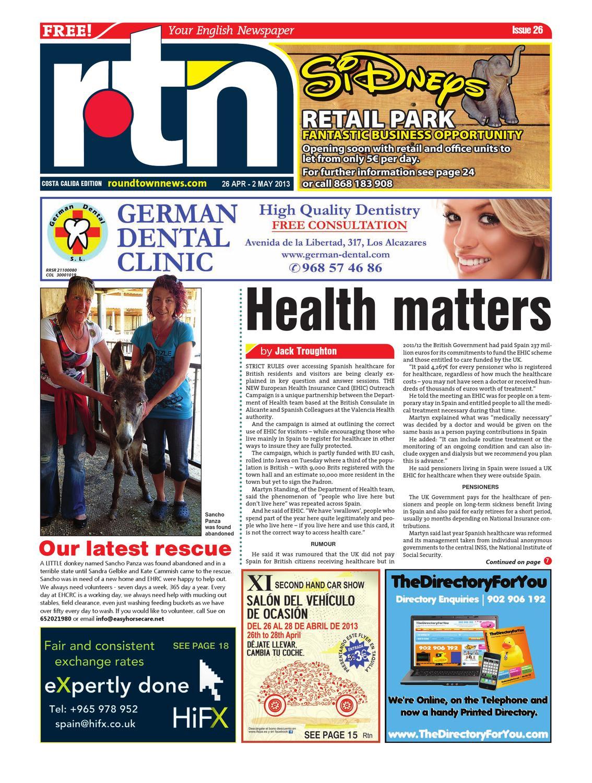 RTN Costa Calida Edition 26 by Round Town News - issuu ebff98b34