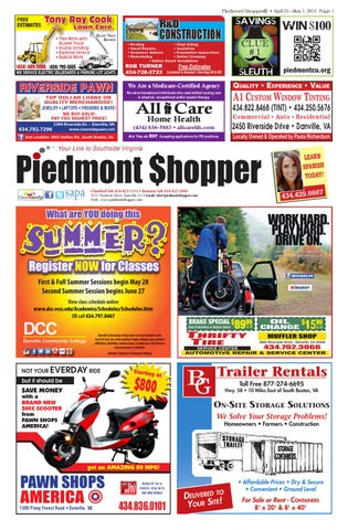 Buy Here Pay Here Danville Va >> Piedmont Shopper by piedmont shopper - Issuu