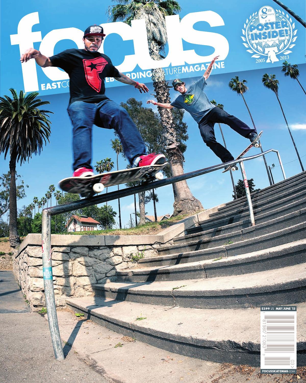 focus skateboarding magazine 49 may june u002713 by focus skate