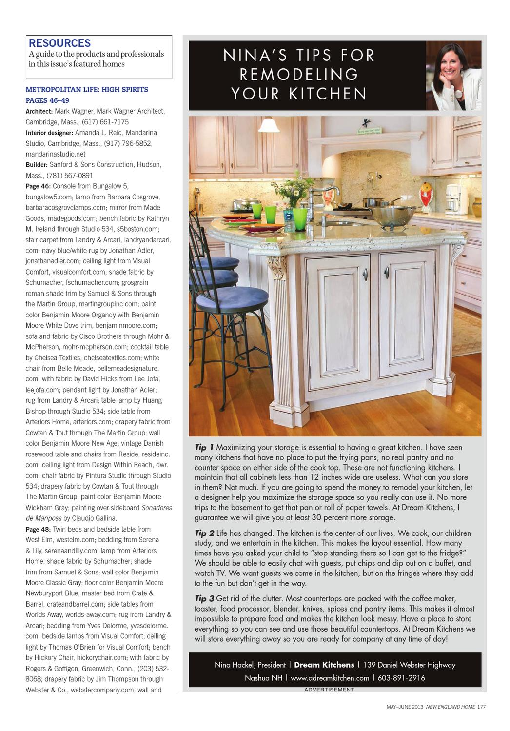 New England Home May June 2013 by Network Communications Inc. - issuu