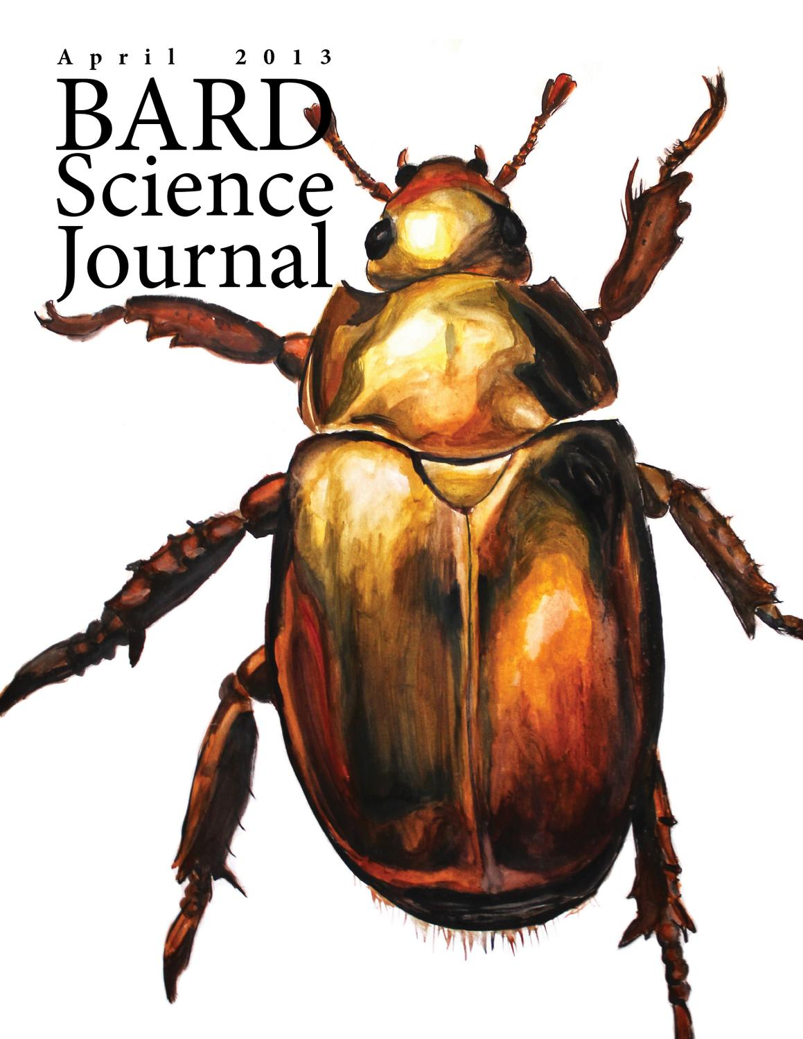 April 2013 by Bard Science Journal - issuu