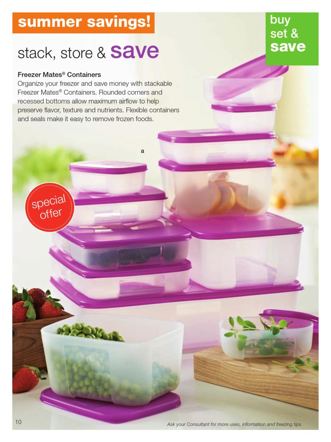 Tupperware Summer catalog 2013 by Nancy LaChance