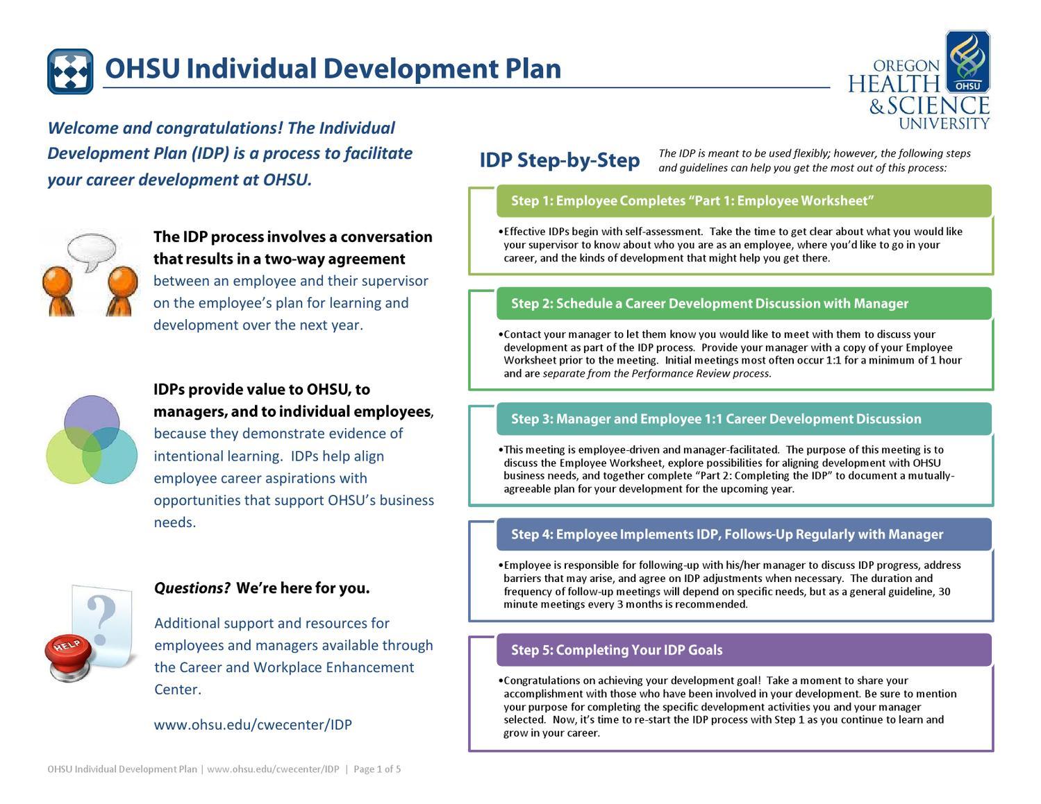 personal career development plan university miscellaneous marked