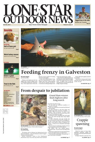April 26 2013 Lone Star Outdoor News Fishing Hunting By Craig