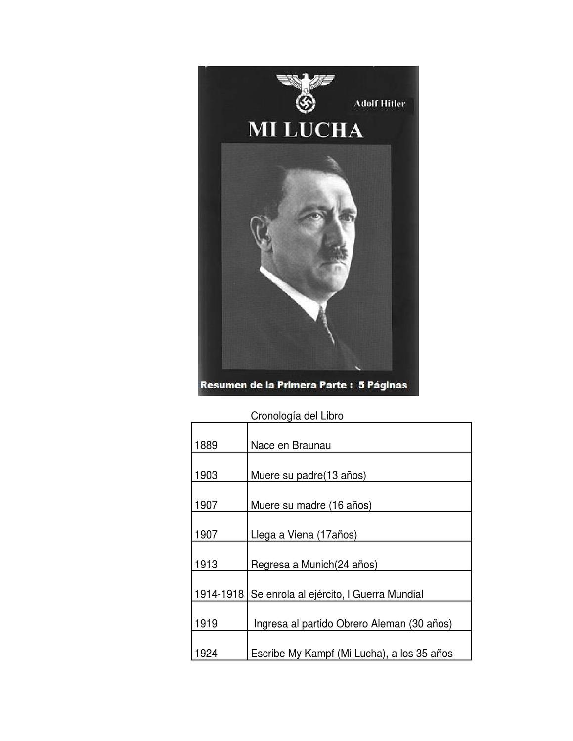Resumen de Mi Lucha- Hitler by Carlos Sarmiento - Issuu