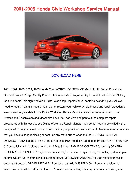 2001 Honda S2000 Shop Service Repair Manual Book Engine Drivetrain ...
