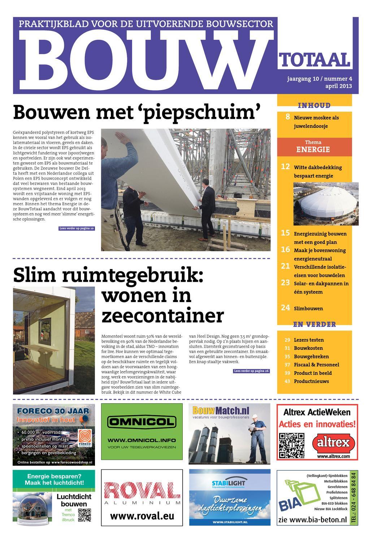 bouwtotaal april 2013 by nederlandse handelsuitgaven bv issuu