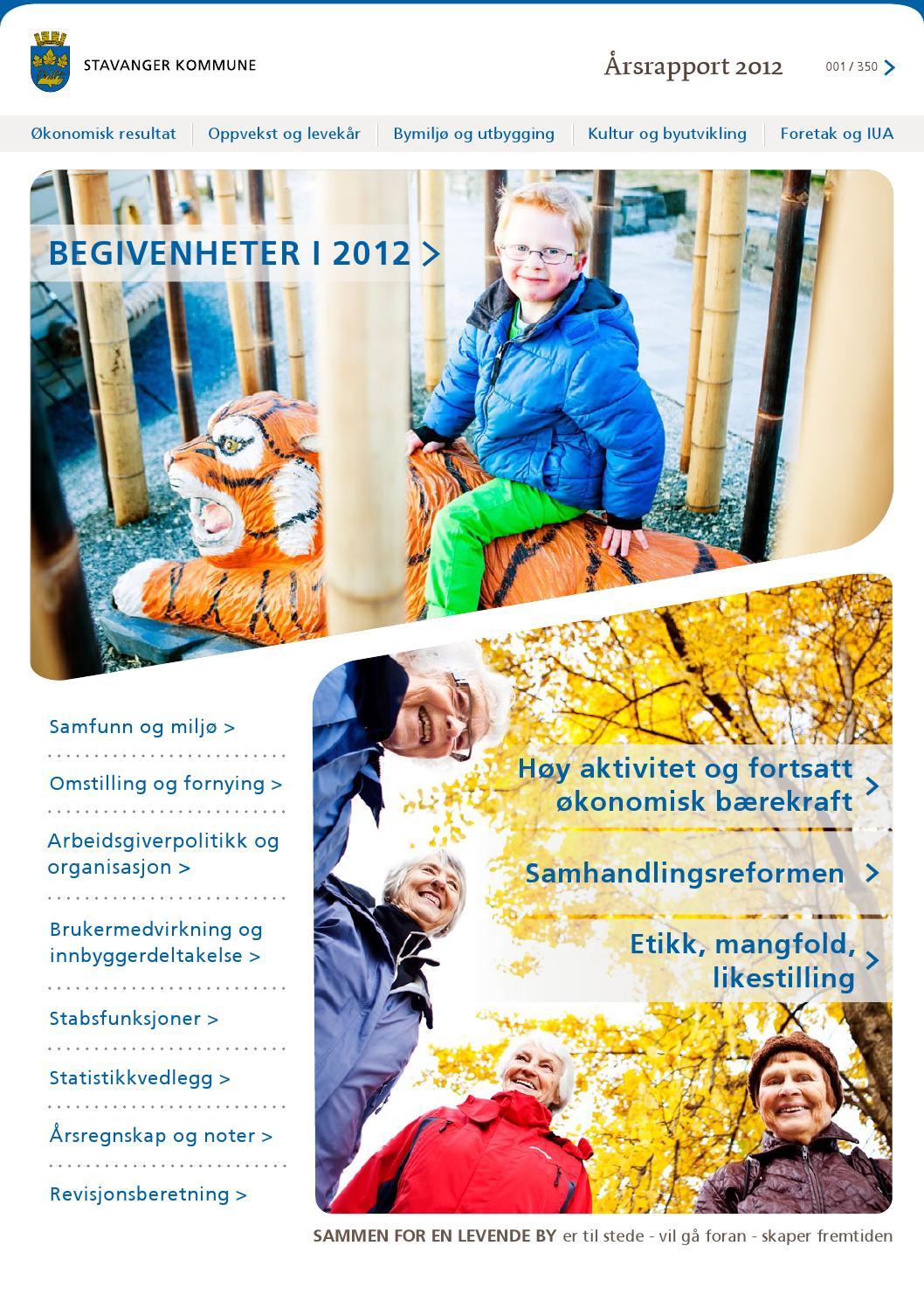 Arsrapport 2012 Stavanger Kommune Og Kommunale Foretak By Stavanger Kommune Issuu