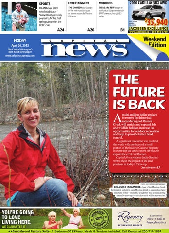 Kelowna Capital News, March 26, 2013 by Black Press Media Group - issuu
