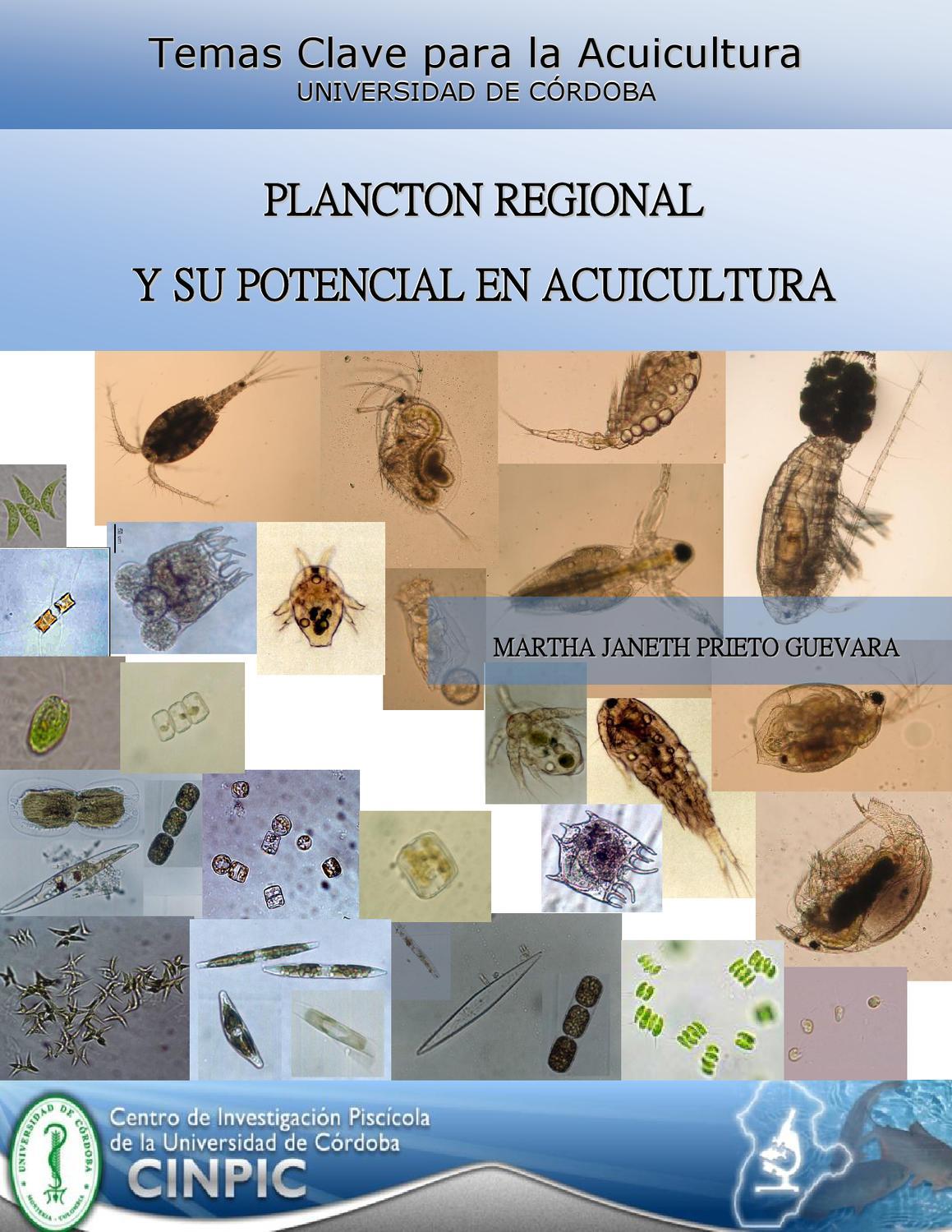 Plancton regional y su potencial en acuicultura by martha for Manual de acuicultura pdf