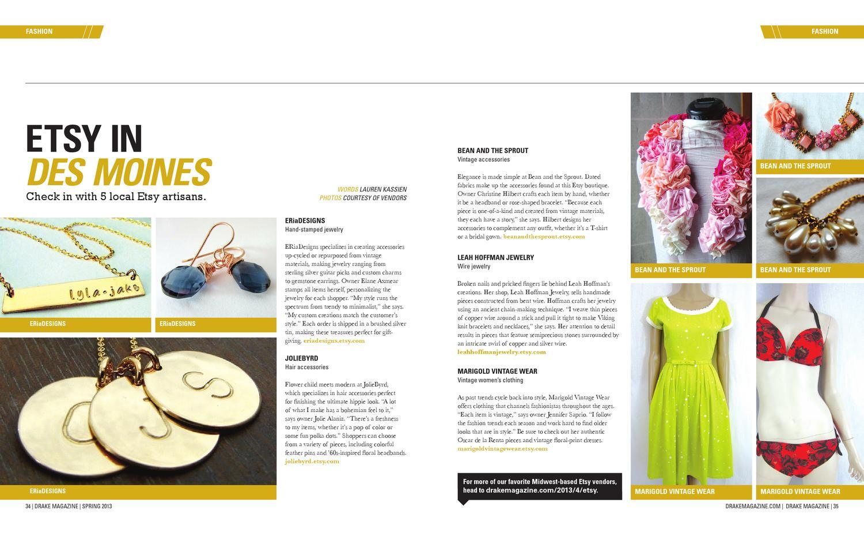 Drake Magazine Spring 2013 By Issuu Bean Wiring
